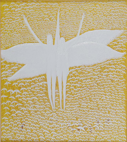 Outsider art : Morar Vojkan : Two and a Thousand Angels (bleaching, multiplication, colonization, alienation, religion)